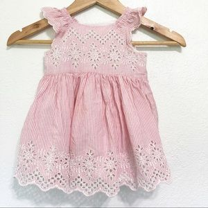 Baby Gap Striped Eyelet Sundress